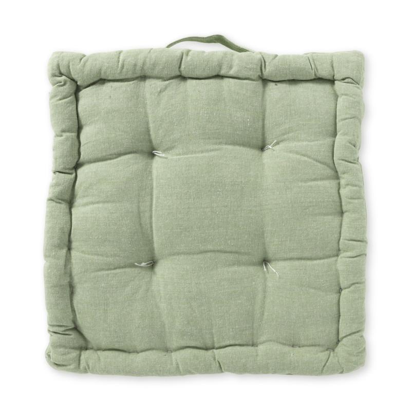 Matraskussen - groen - 40x40 cm