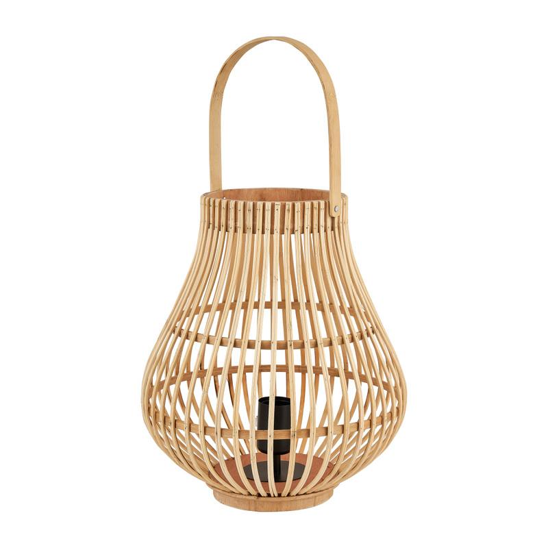 Tafellamp bamboe - ø30x35 cm