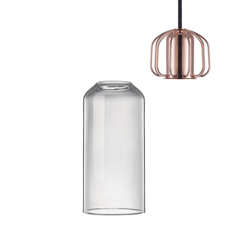 Nordlux hanglamp - helder/koper- 12x25.2 cm