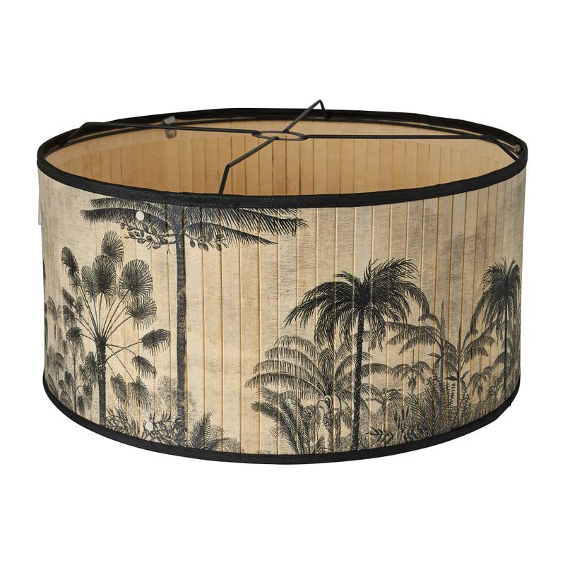 Hanglamp bamboe - natuurprint - ø50 cm