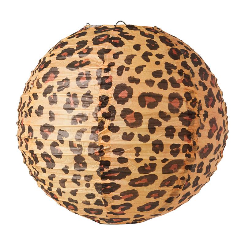 Lampion - luipaard - ø30 cm