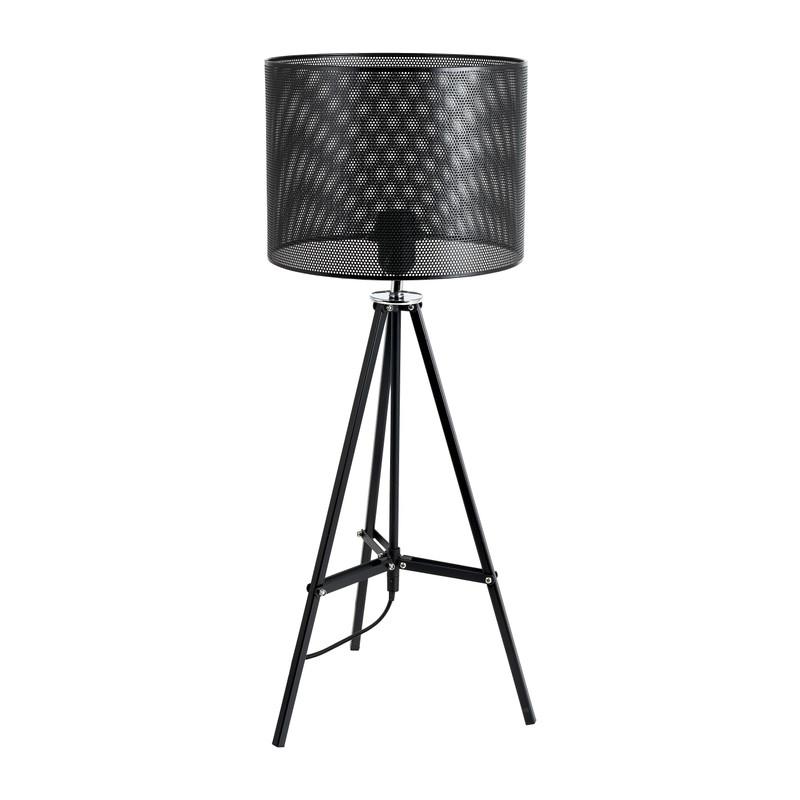 Tafellamp met driepoot - zwart - 55x26x27 cm