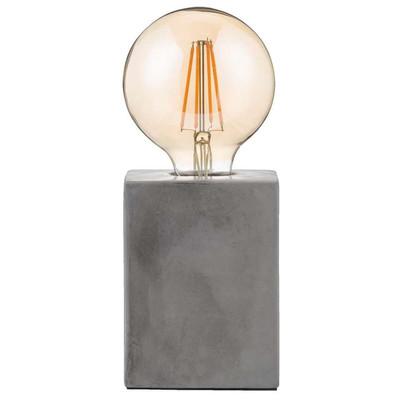 Tafellamp Vintage Led Cement 9 5x9 5x24 Cm Xenos