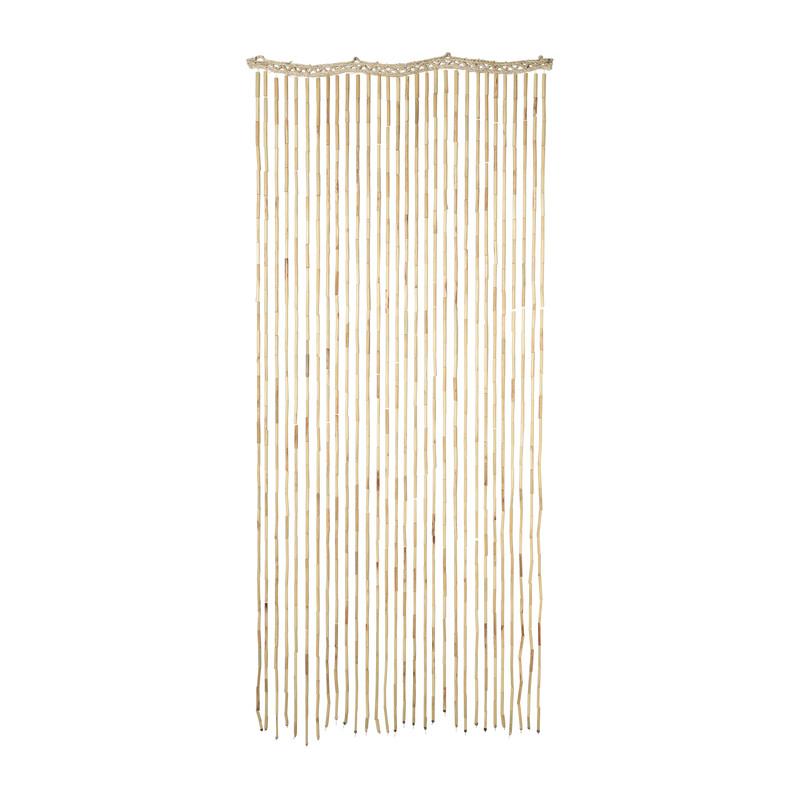 Vliegengordijn - bamboe - 90x200 cm