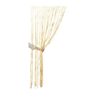 deurgordijn bamboe 30 strengen 90x200 cm