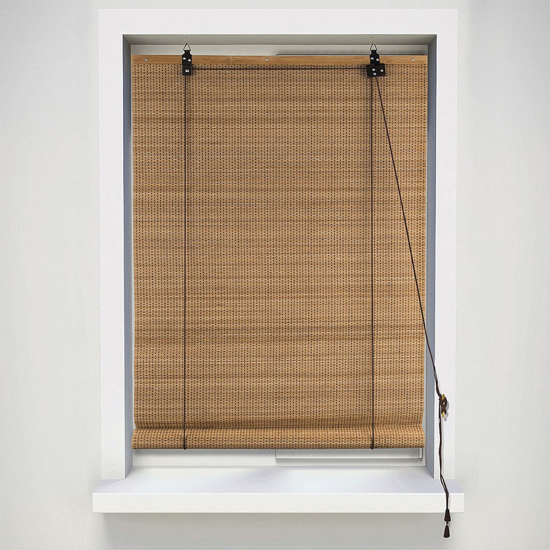 Rolgordijn bamboe - 60x180 cm