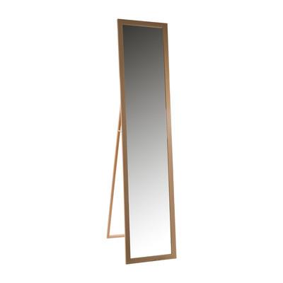 Cheap passpiegel staand xx cm bruin with grote spiegel for Grote lange spiegel