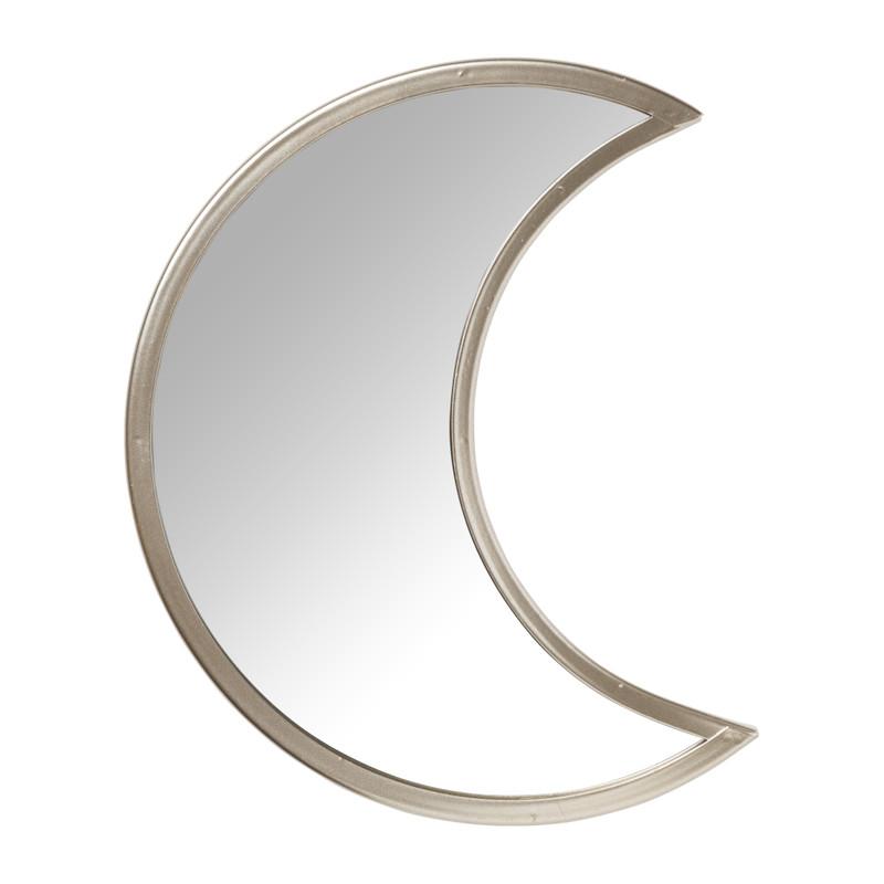 Spiegel maan - goud - 20x25cm