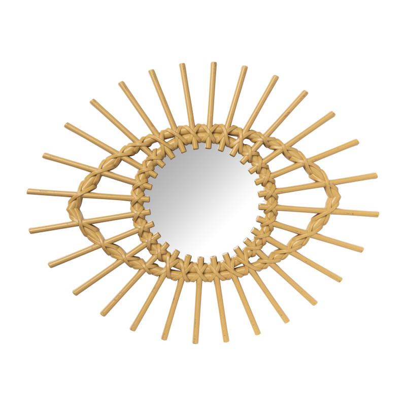 Spiegel oog - kunststof - 56x45 cm