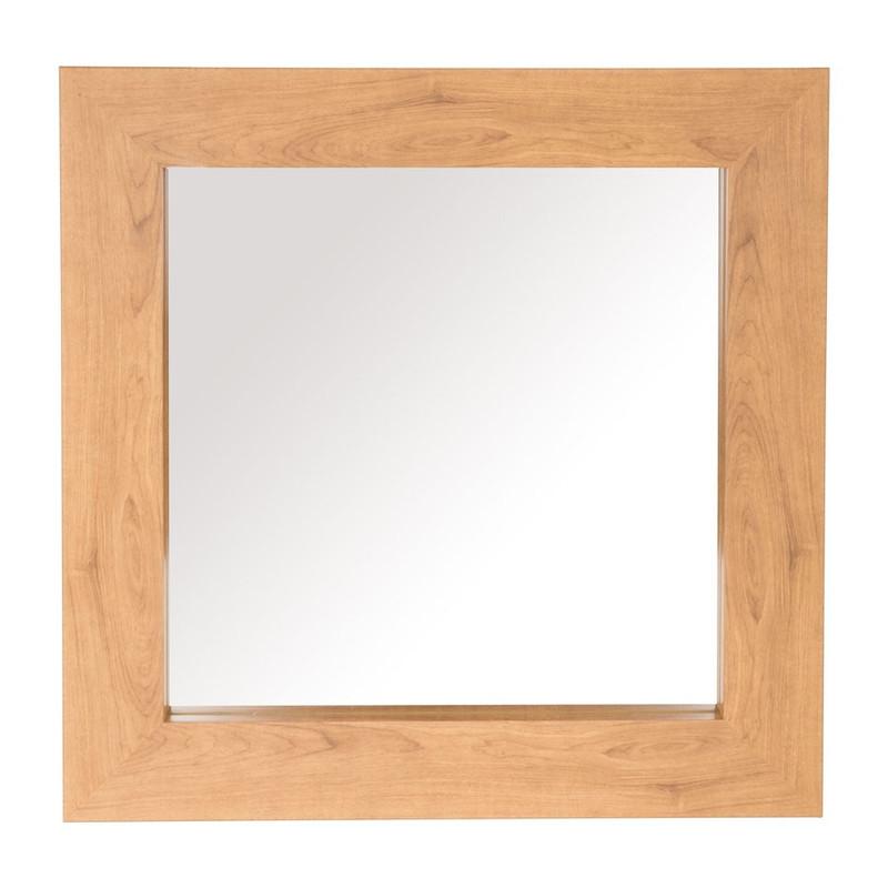 Badspiegel 60x60.Spiegel Houten Lijst 60x60 Cm