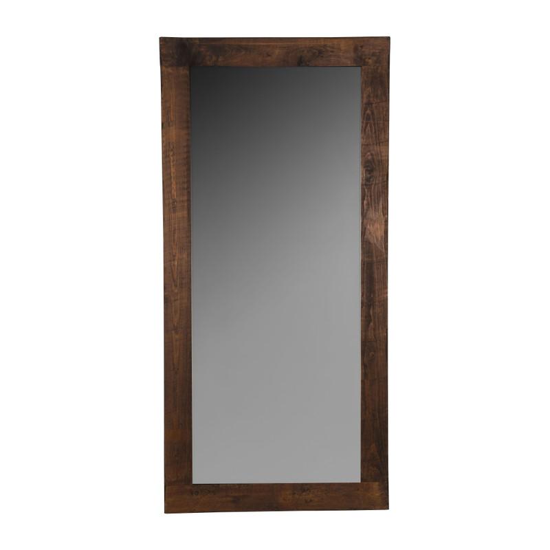 Grote Spiegel Hout.Spiegel Old Wood 165x82x2 Cm