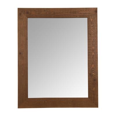 Spiegel old wood 98x78x2 cm xenos for Ronde spiegel met touw