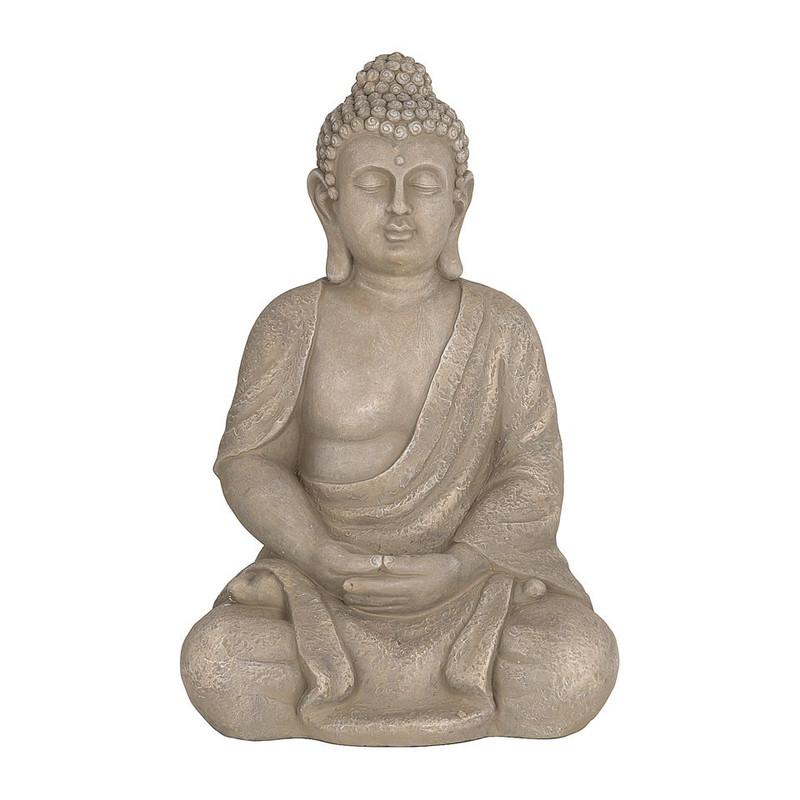 Boeddha zittend XL - 40 cm