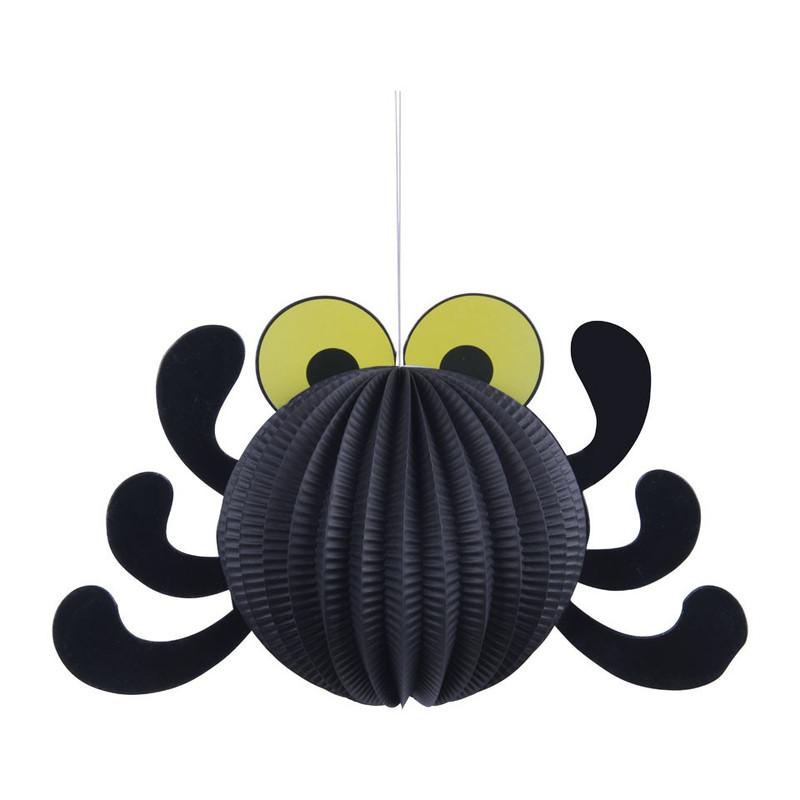 Lampion spin - zwart