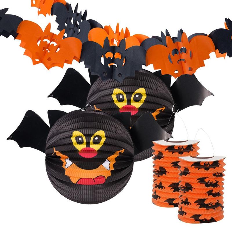 Xenos Halloween.Halloween Feestpakket Vleermuis