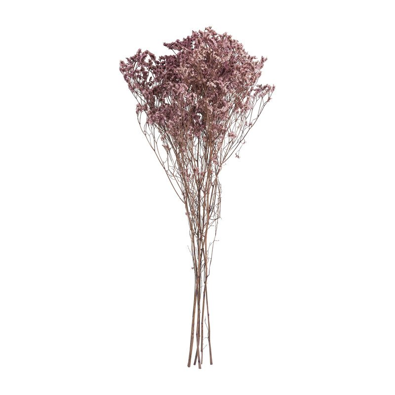 Gipskruid gedroogd - roze - 65 cm