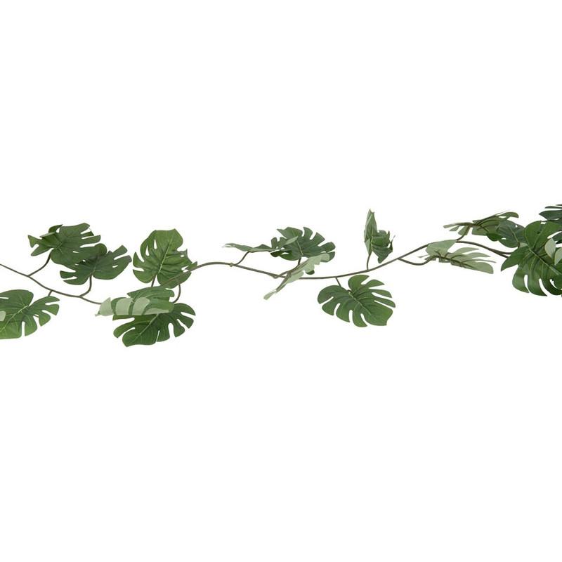 Gatenplant slinger - groen - 260 cm