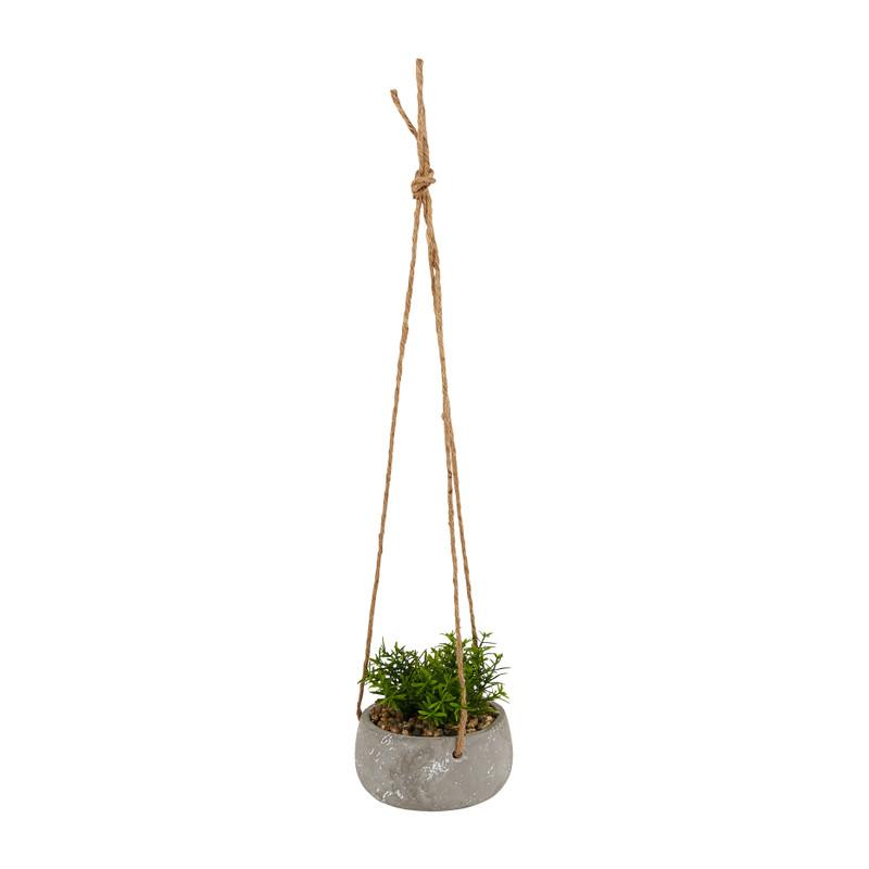 Plantenhanger rozemarijn - Ø13x14 cm