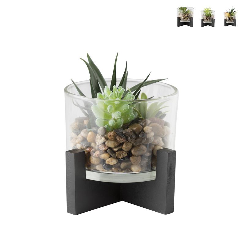 Plant in pot - diverse varianten - 15x15x15 cm