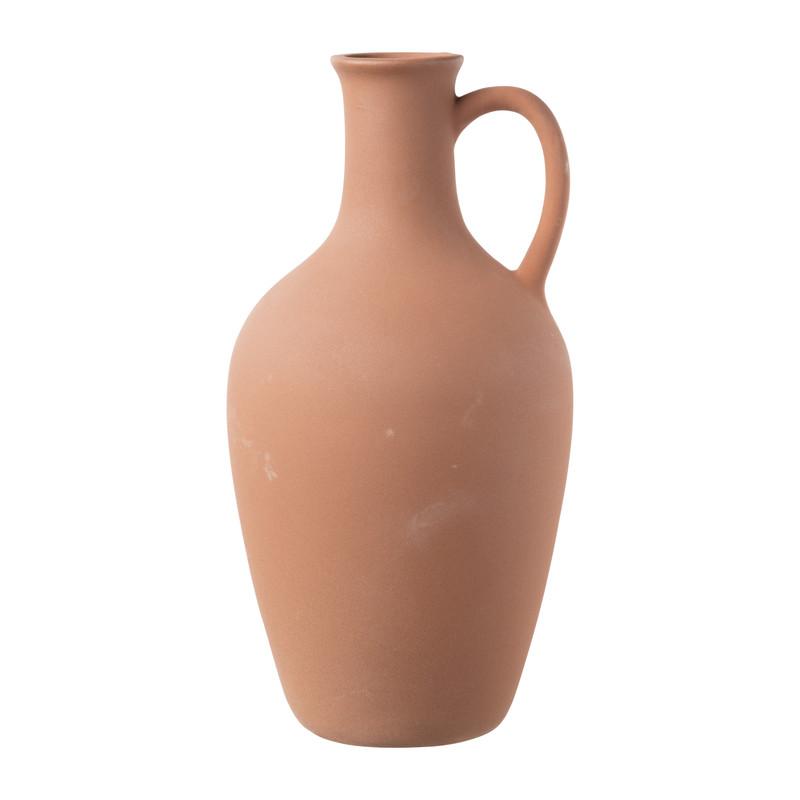 Vaas - terracotta - -14.3x28.5 cm