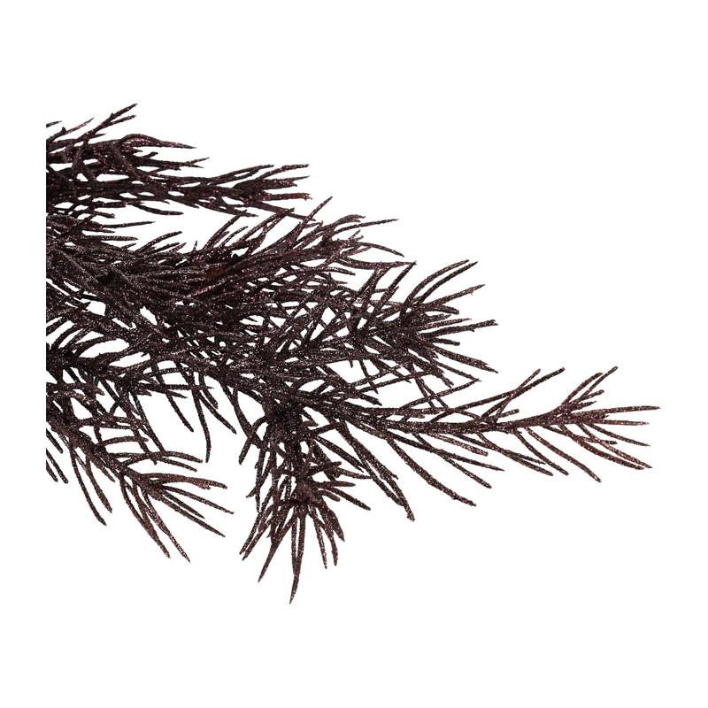 Dennentak - paars - 48 cm