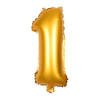 Folie ballon XL - cijfer 1 - 60 cm