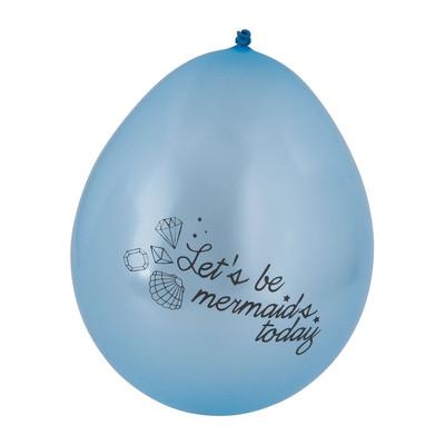 Ballon mermaid - 8 stuks