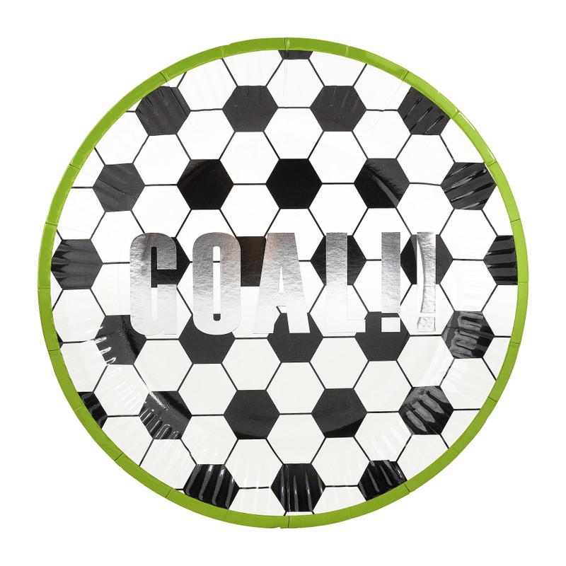 Bord soccer 8 stuks ø23 cm