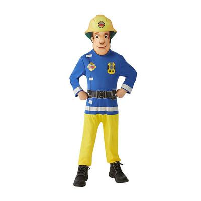 Brandweerman Sam Verkleedpak Maat 104 Xenos