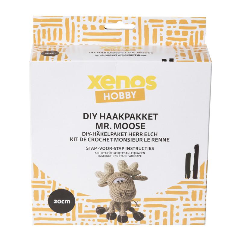 DIY haakpakket - Mr. Moose - 20 cm