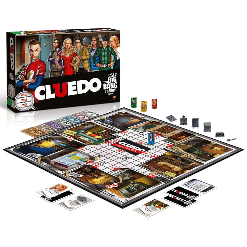 Cluedo Big Bang Theory - bordspel