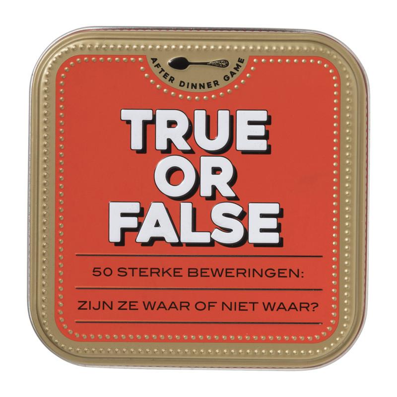 Spel- True or false