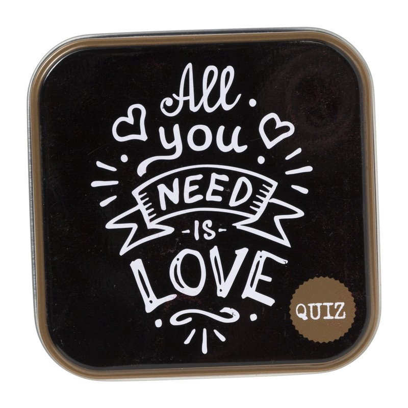 Quiz - All you need is love