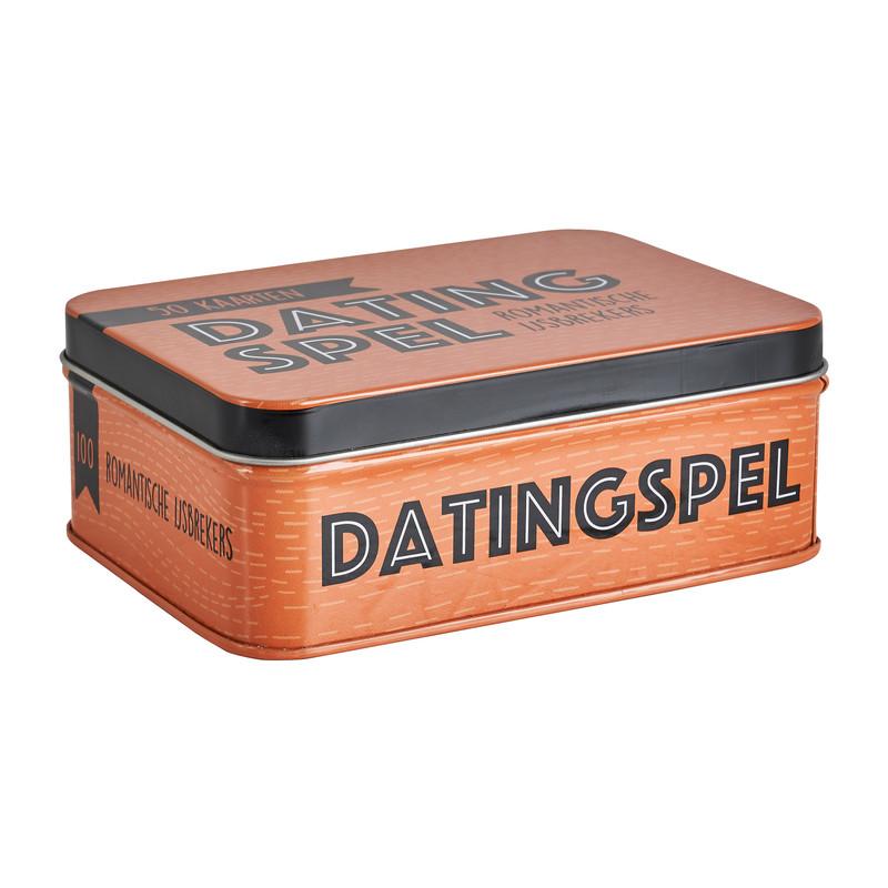 Datingspel in blik - 50 kaarten