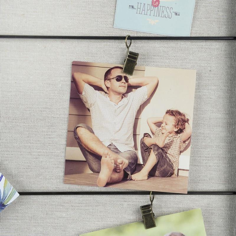 Collagelijst Party met clips - 41x76 cm