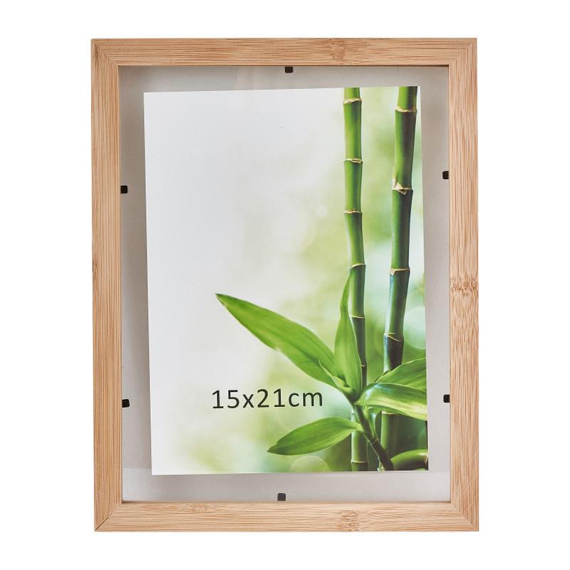 Fotolijst bamboe - 15x21 cm