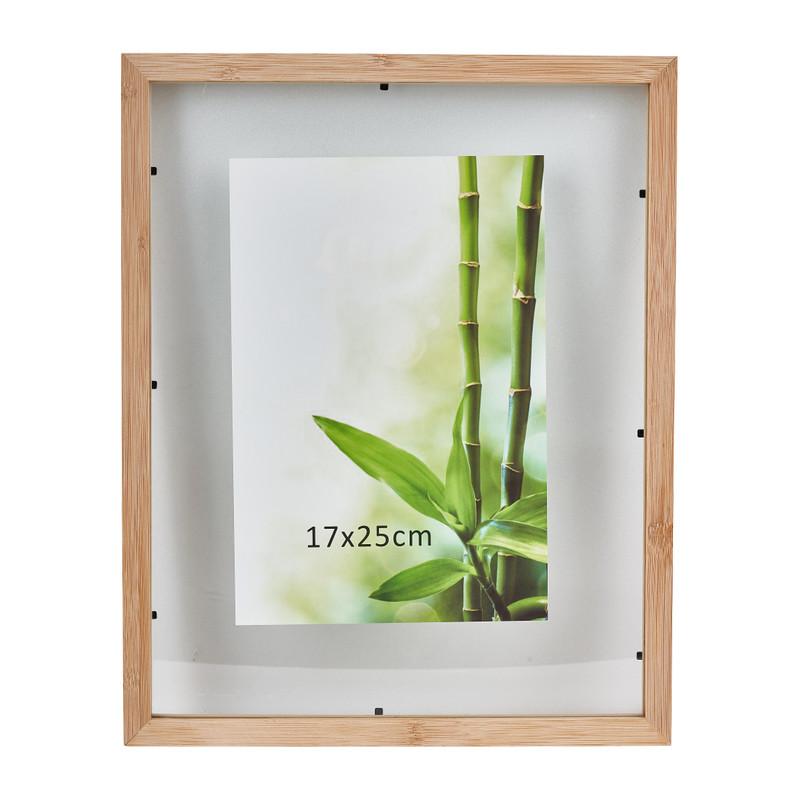 Fotolijst bamboe - 17x25 cm