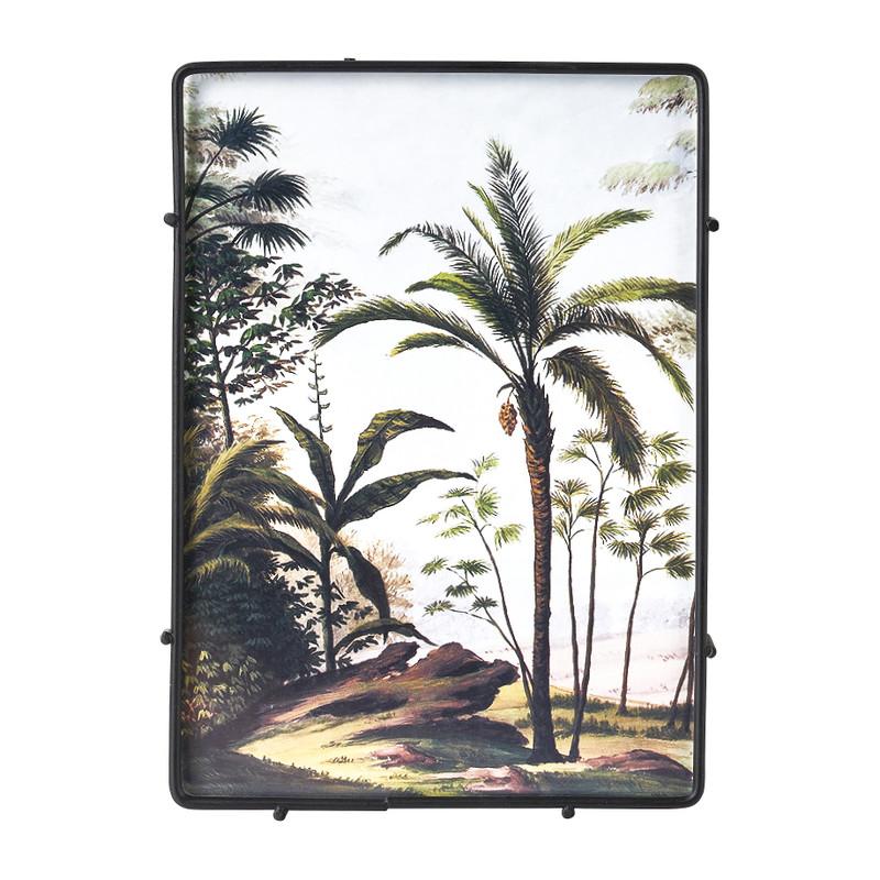 Fotolijst jungle - zwart - 13x18 cm