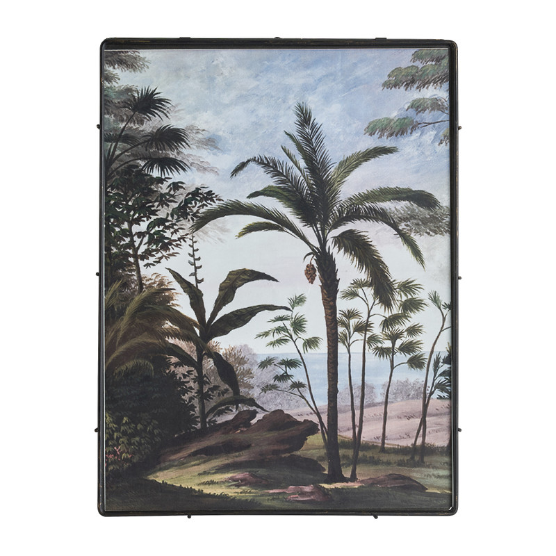 Fotolijst jungle - zwart - 30x40 cm