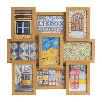 Collagelijst Lisbon - 9 foto's - bruin