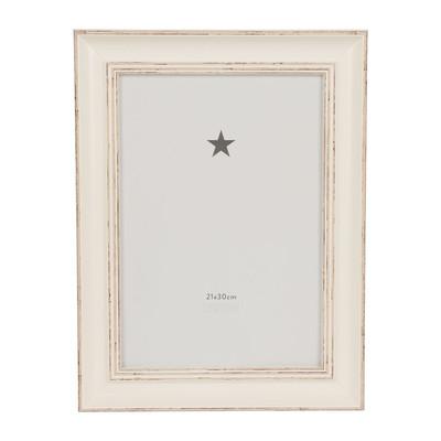 Fotolijst antic white - 21x30 cm
