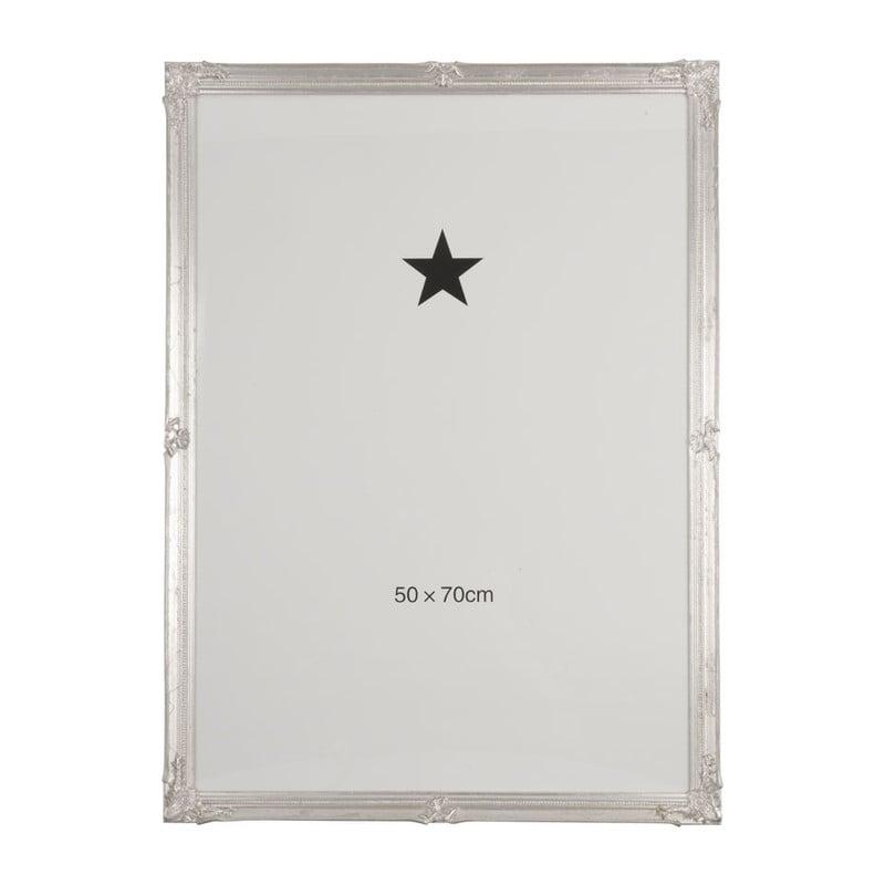 Grote Lijst Met Passepartout.Fotolijst Klassiek 50x70 Cm Zilverkleurig