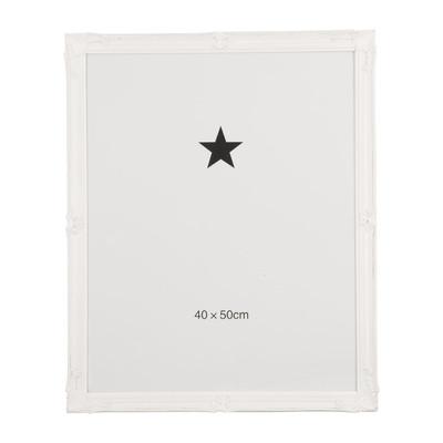 Fotolijst klassiek - 40x50 cm - wit