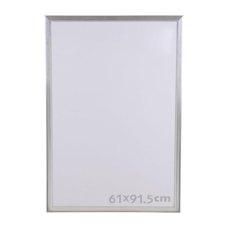 Grote Lijst Met Passepartout.Fotolijst Aluminium Look 61x91 5 Cm