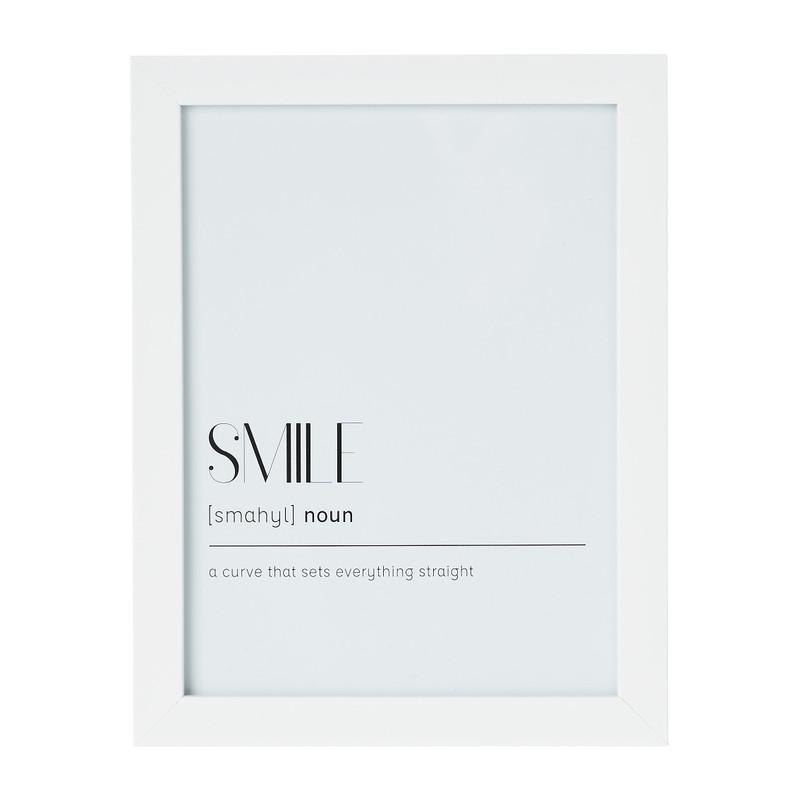 Fotolijst basic - 15x20 cm - wit