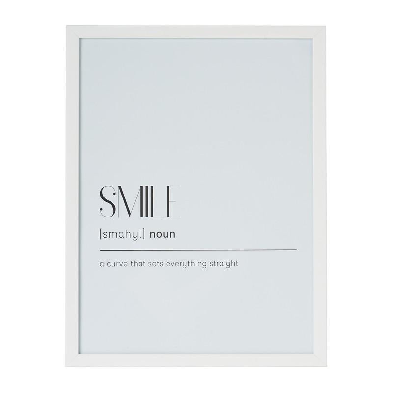 Fotolijst basic 30x40 cm wit