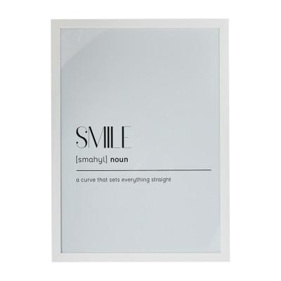 Fotolijst basic - 50x70 cm - wit