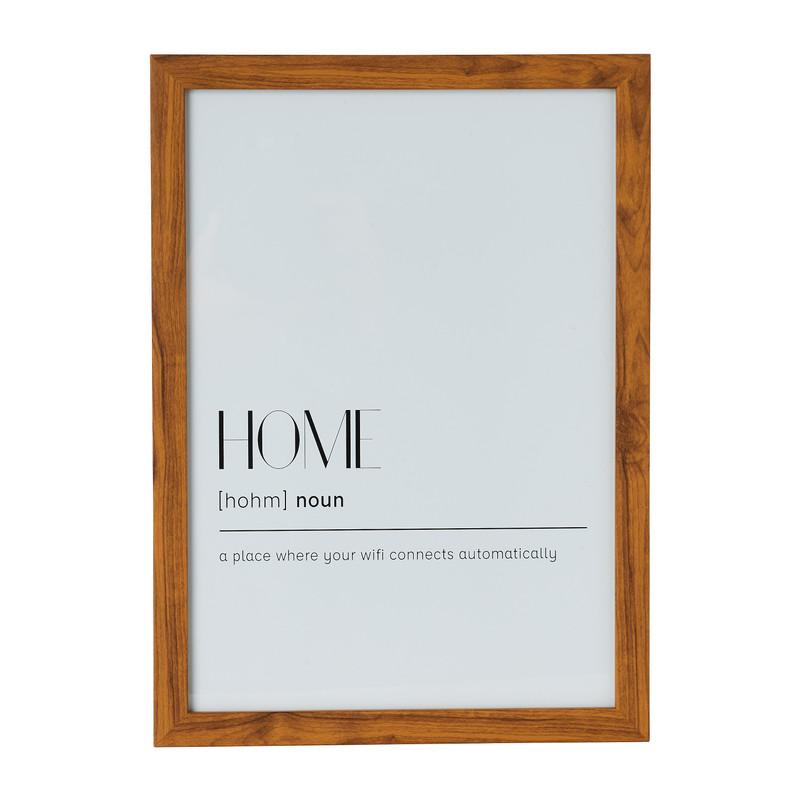 Fotolijst basic - 21x30 cm - bruin