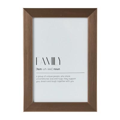 Fotolijst basic - 10x15 cm - zilverkleurig