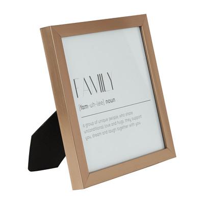 Fotolijst basic - 18x18 cm - zilverkleurig